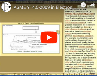 Electronic version of the ASME Y14.5 2009 Standard.