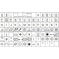 GD&T 2009 Font - PC and Mac compatible